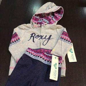 Roxy 2-piece sweatsuit